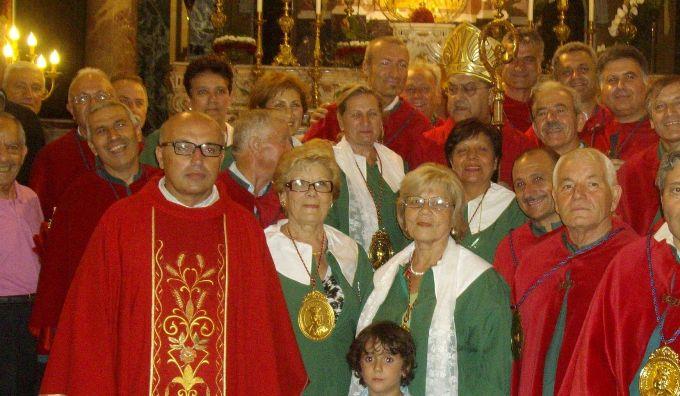 Congrega S.Eufemia con cardinale Sepe