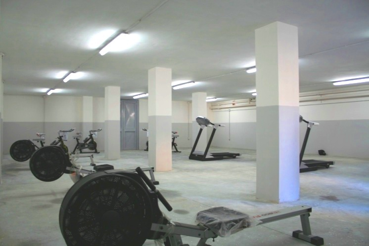 Marcianise – Liceo Quercia, aula fitness