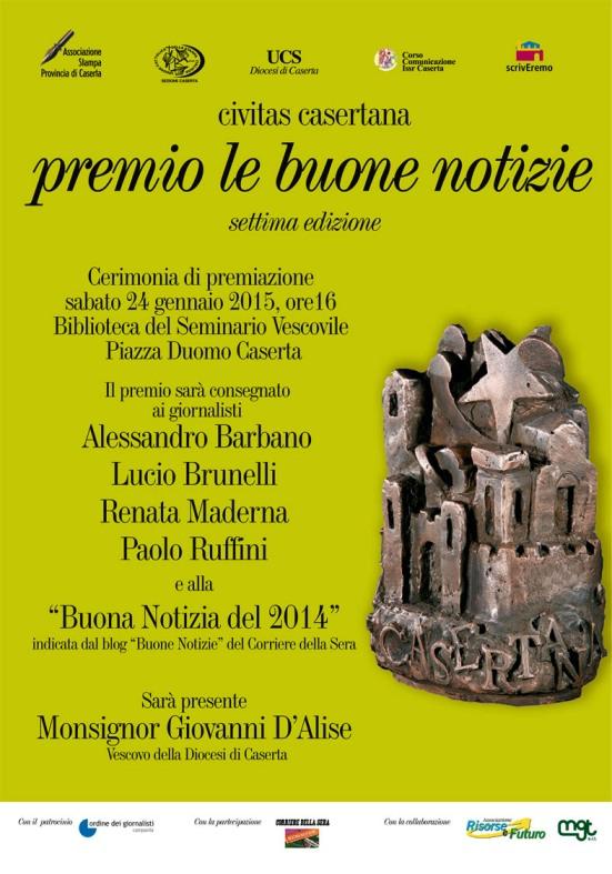 Premio Buone Notizie 2014 - Caserta