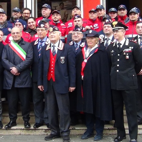 Aversa (CE) – La Città celebra il bicentenario dell'Arma dei Carabinieri (31.01.15)