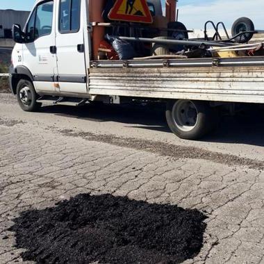Gricignano – asfalto Asi Frigocaserta (6)
