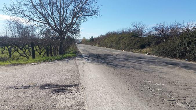Gricignano – asfalto Asi Frigocaserta (8)