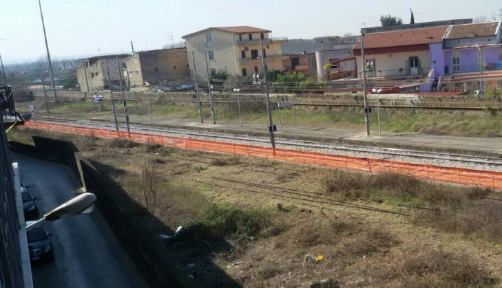 Linea ferroviaria, allargamento di Via Lucania