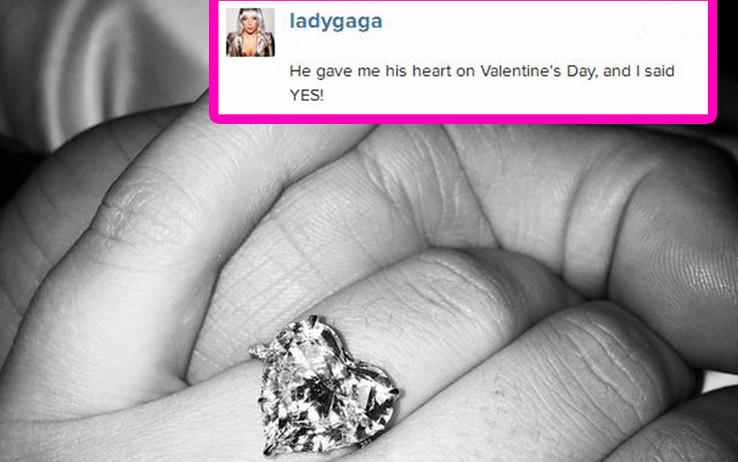 Lady Gaga anello