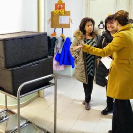 Marcianise – Arecchia ispeziona mensa scolastica 2