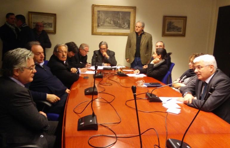 Marcianise - Interporto commissione regionale