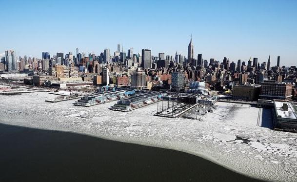 New York gelo