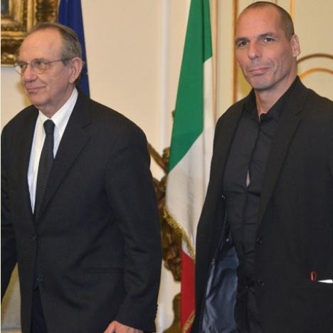 Padoan – Varoufakis