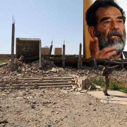 Saddam Hussein mausoleo