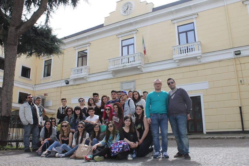 Cesa – Pro Loco accoglie studenti di Busto Arsizio (1)