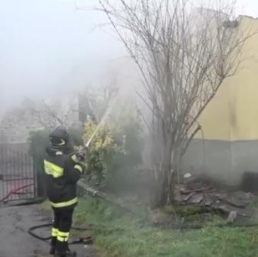 Vigili del Fuoco incendio casa