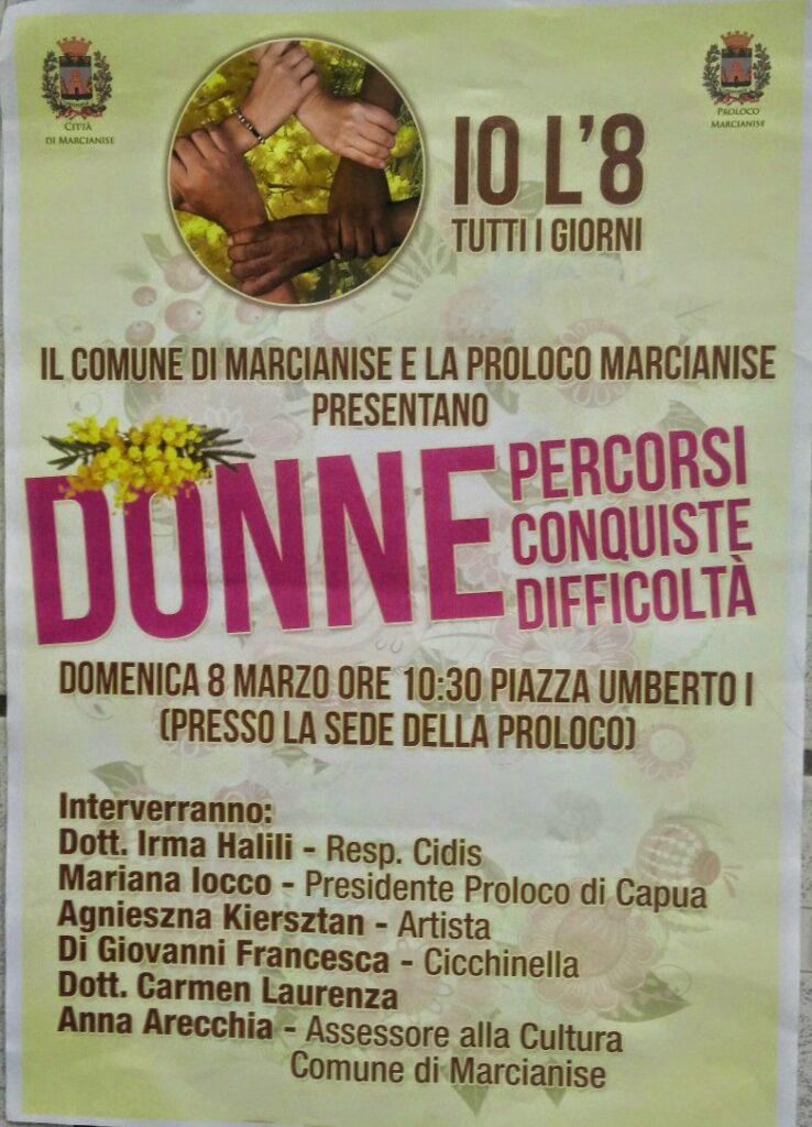 Marcianise – Giornata Donna 2015
