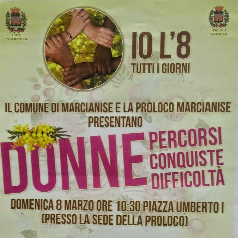 Marcianise – Giornata Donna 2015