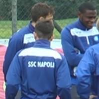 Napoli allenamento