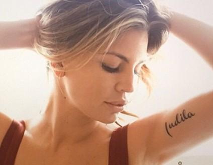 claudia galanti tatuaggio indila