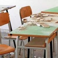 scuola crollo