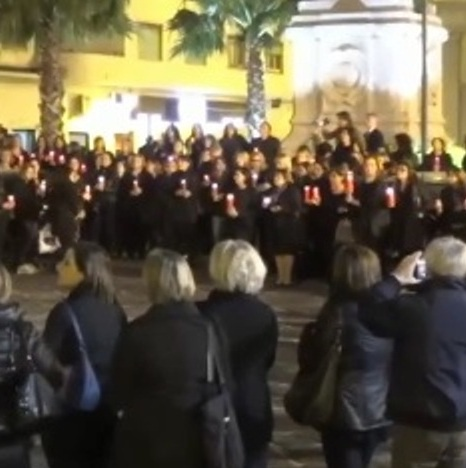 Aversa  -Flash mob