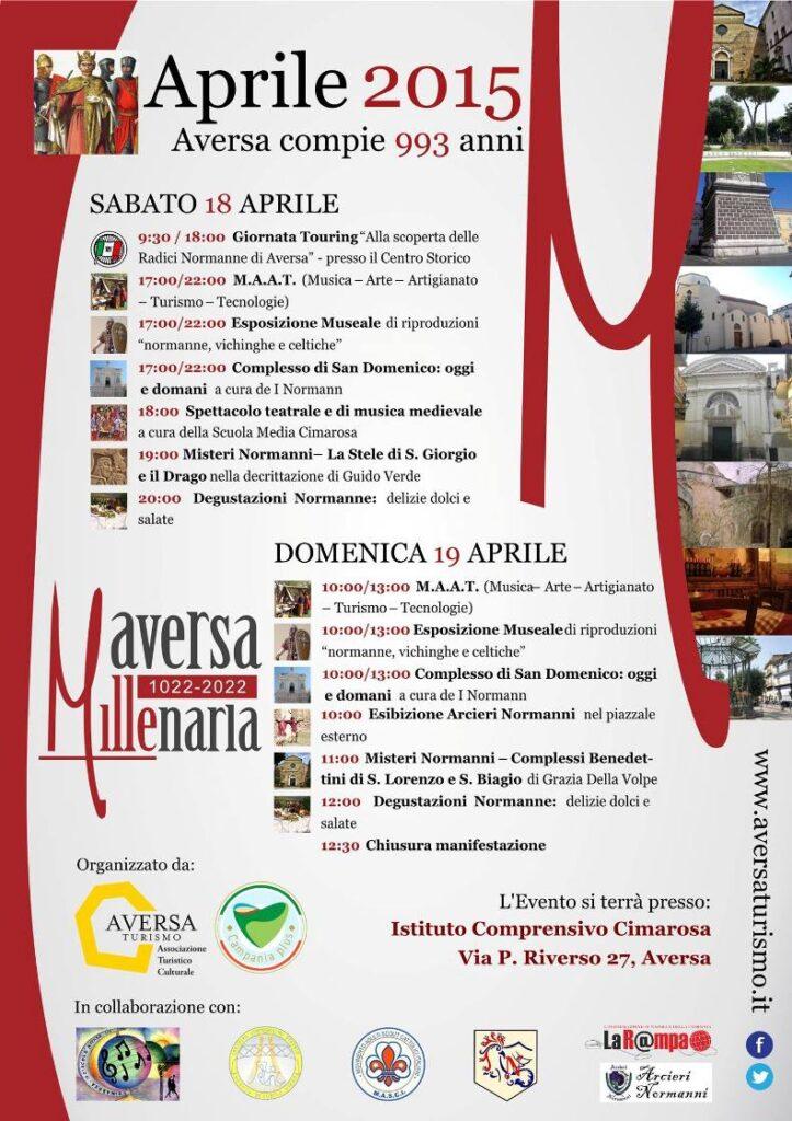 Aversa Touring Club - Programma Aprile 2015