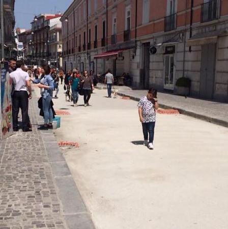 Aversa – il cantiere di Via Roma (1)