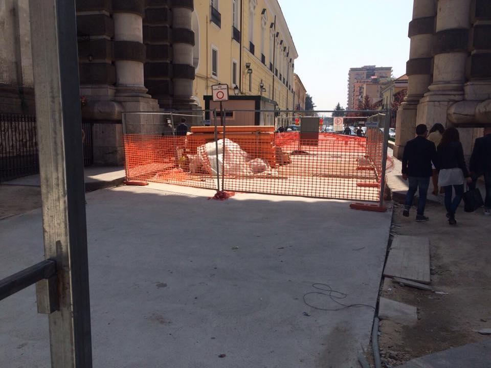 Aversa – il cantiere di Via Roma (3)