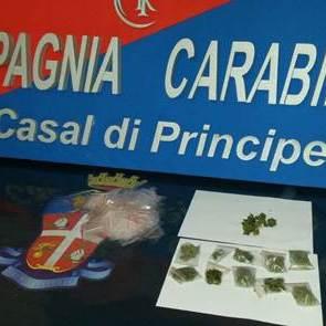 San Cipriano, sequestrata marijuana