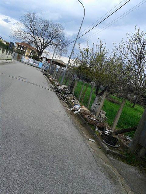 Carinaro – rifiuti in strada (2)