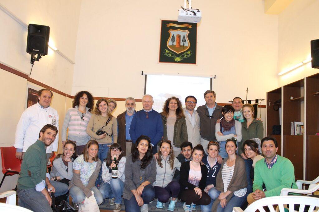 Cesa – Visita degli studenti di Bra (1)