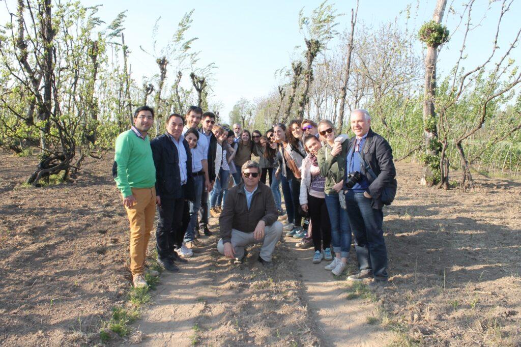 Cesa – Visita degli studenti di Bra (2)