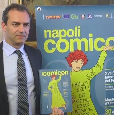 De Magistris, Comicon