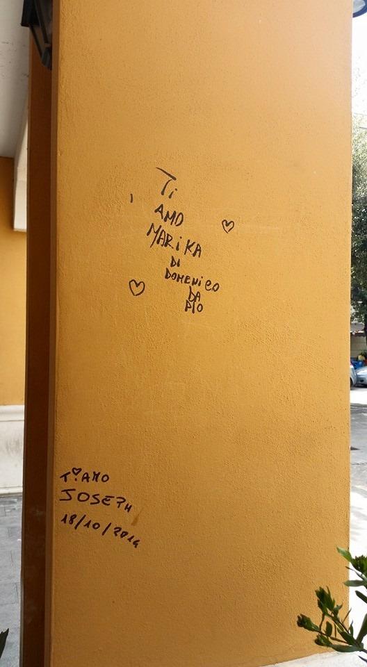 Gricignano – Graffiti Municipio (3)