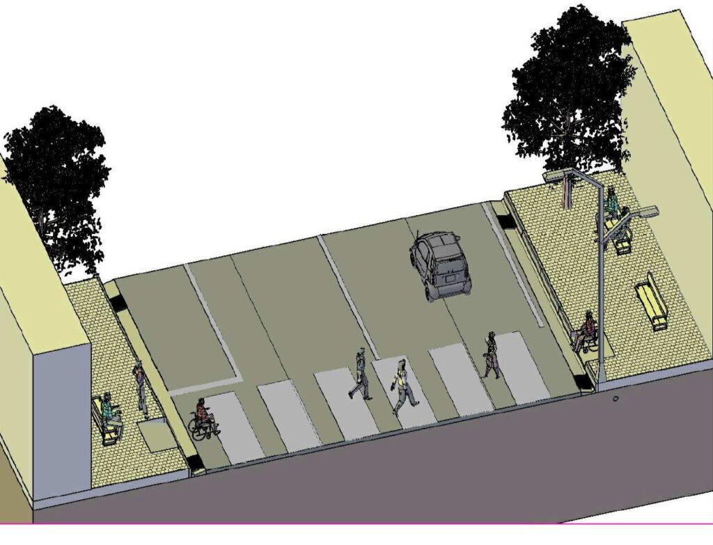 Gricignano – Via S.Antonio Abate, il progetto (1)