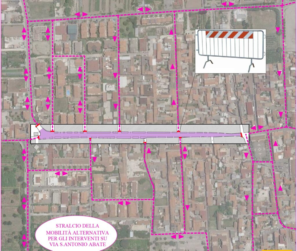 Gricignano – Via S.Antonio Abate, il progetto (6)