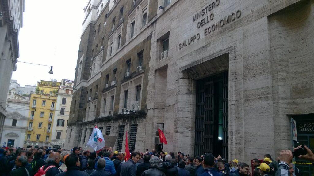 Indesit – Protesta a Roma (3)