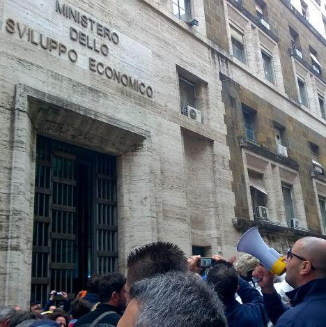 Indesit – Protesta a Roma (4)