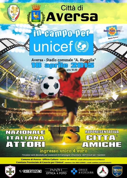Nazionale Attori – Unicef