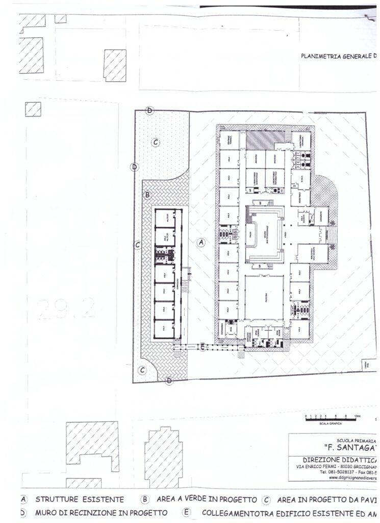 Progetto ampliamento scuola elementare 002