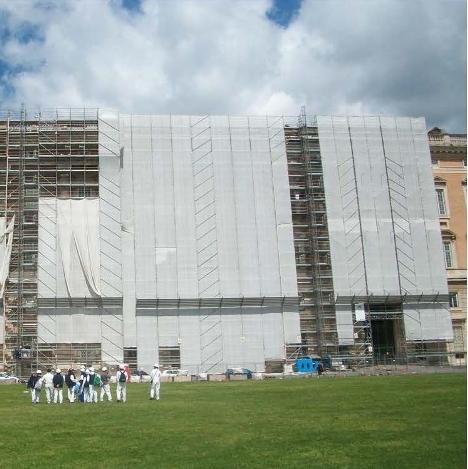 Reggia di Caserta – lavori di restauro