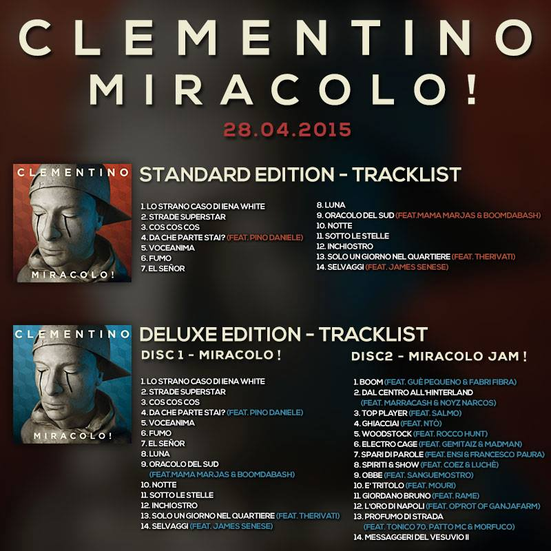 clementino cover miracolo