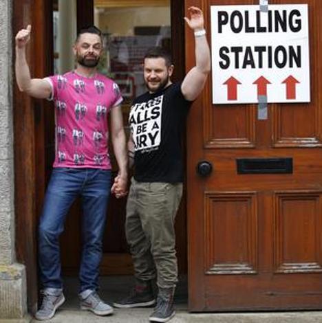 Irlanda, nozze gay