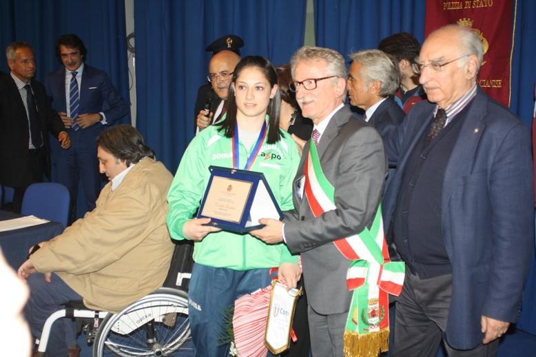 Angela Carini premiata (2)