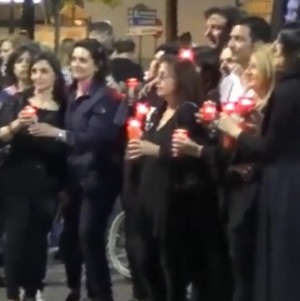 Aversa, selfie mob