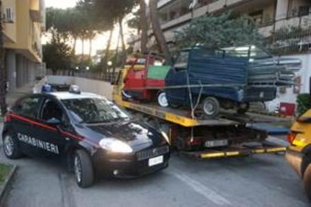 Caserta – Rubano guard-rail sulla Variante Anas, arrestati (2)