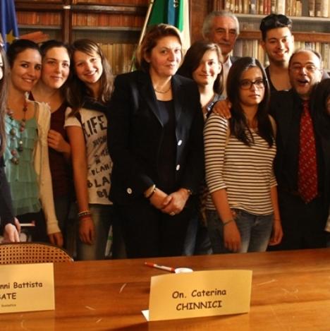 Chinnici al Liceo Nifo (4)