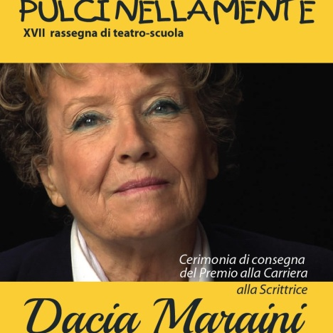 Dacia Maraini a Pulcinellamente