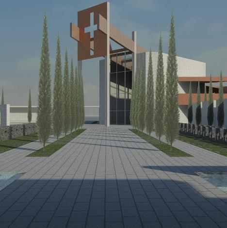 Frignano – cimitero progetto (1)