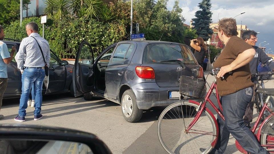 Gricignano – Incidente Via Diocleziano  (1)