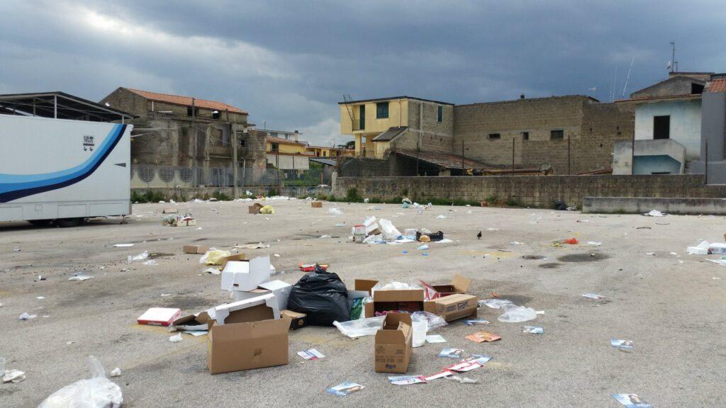 Gricignano – area mercato rifiuti (10)