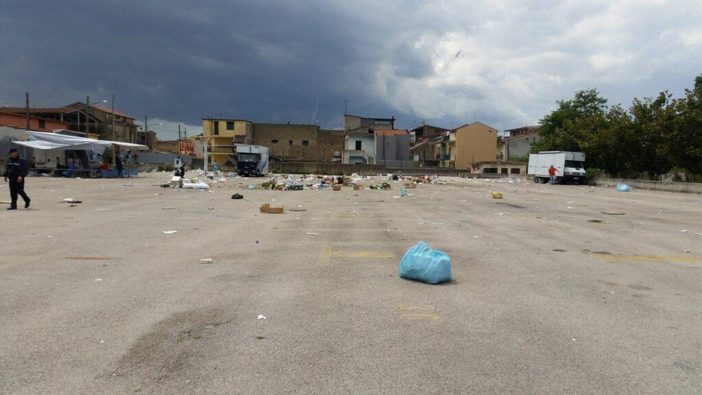 Gricignano – area mercato rifiuti (11)