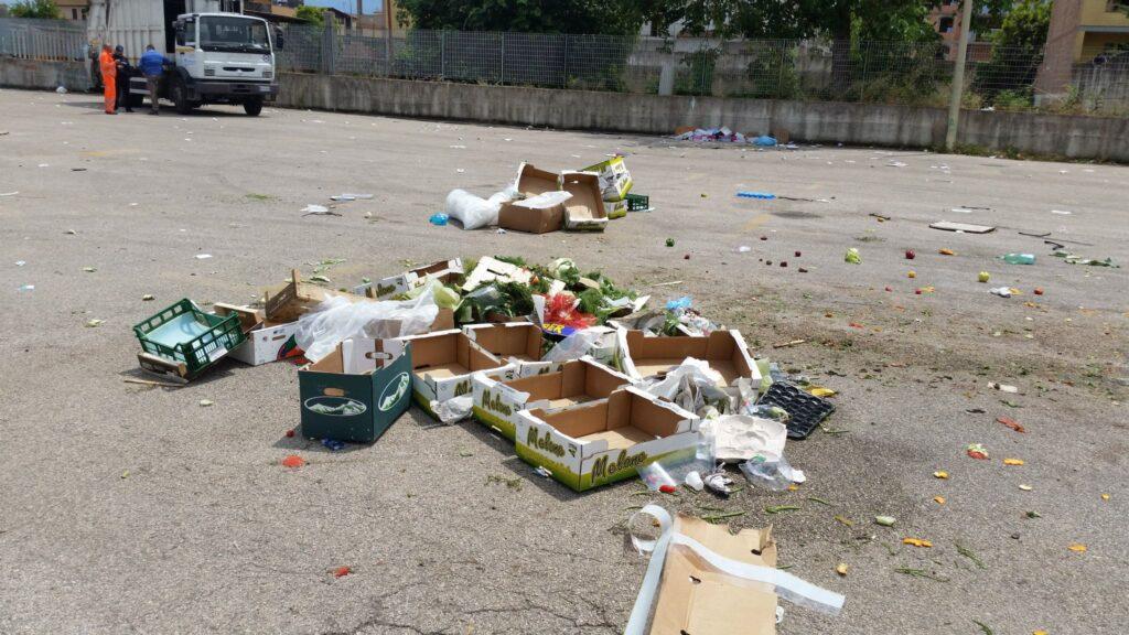 Gricignano – area mercato rifiuti (14)