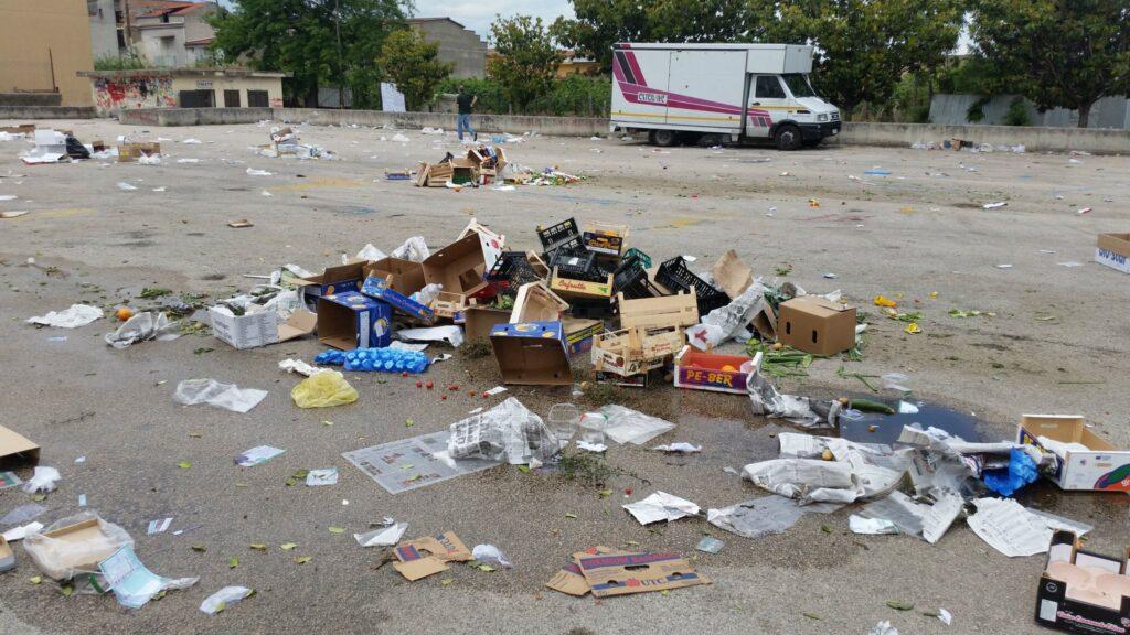 Gricignano – area mercato rifiuti (16)